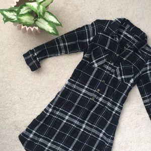 Plaid Flannel Fall Dress